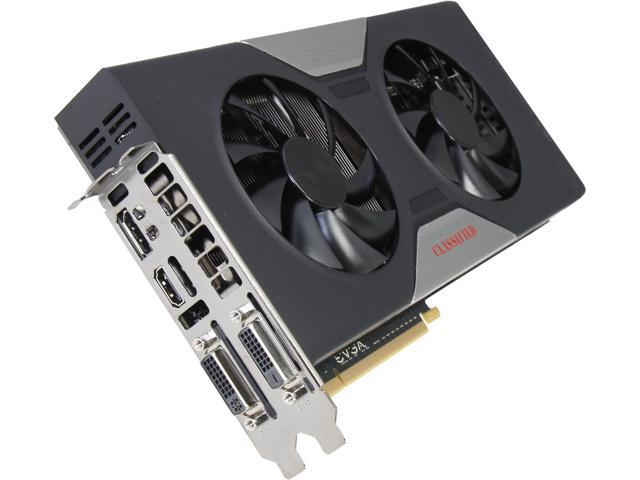EVGA GeForce GTX 780 DirectX 12 (feature level 11_0) 03G-P4-3788-KR Classified w/ EVGA ACX Cooler Video Card