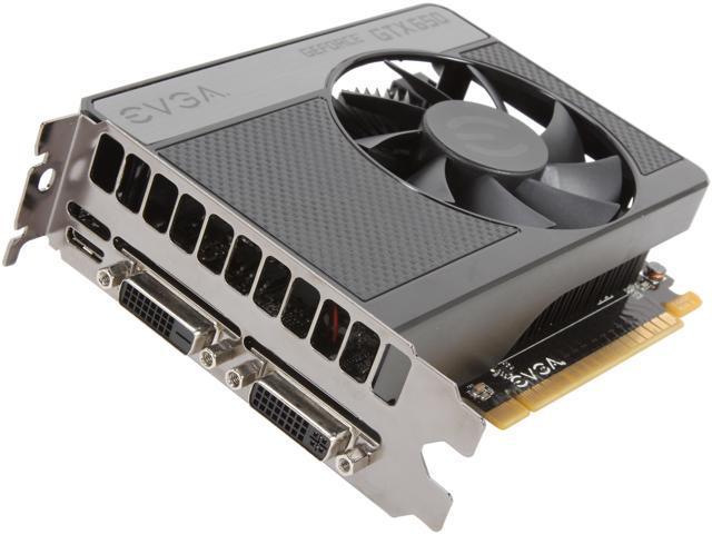 EVGA 02G-P4-2651-RX GeForce GTX 650 2GB 128-Bit GDDR5 PCI Express 3.0 x16 HDCP Ready Video Card Manufactured Recertified