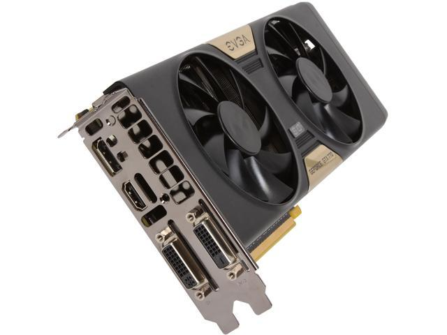 EVGA GeForce GTX 700 SuperClocked 02G-P4-2774-RX GeForce GTX 770 2GB 256-Bit GDDR5 PCI-E 3.0 16x SLI Support Video Card