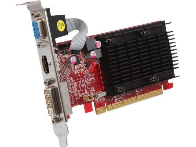 PowerColor Go! Green AX5450 1GBK3-SH Radeon HD 5450 (Cedar) 1GB 64-Bit DDR3 PCI Express 2.1 x16 HDCP Ready Low Profile Ready Video Card