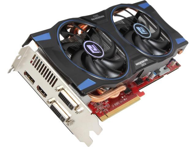 PowerColor AXR9 280X 3GBD5-DHE Radeon R9 280X 3GB 384-Bit GDDR5 PCI Express 3.0 x16 HDCP Ready CrossFireX Support Video Card