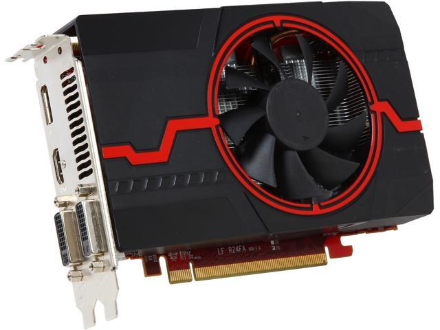 PowerColor AXR7 260X 2GBD5-DHE/OC Radeon R7 260X 2GB 128-Bit GDDR5 PCI Express 3.0 HDCP Ready CrossFireX Support Video Card