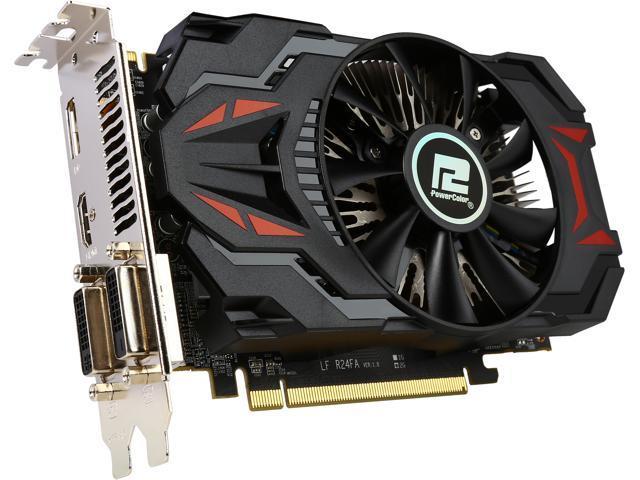 PowerColor AXR7 260X 2GBD5-DHV4E/OC Radeon R7 260X 2GB 128-Bit GDDR5 PCI Express 3.0 HDCP Ready CrossFireX Support ATX Video Card