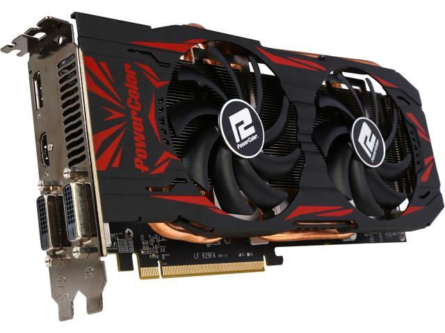 PowerColor AXR9 290X 4GBD5-TDHE Radeon R9 290X 4GB 512-Bit GDDR5 PCI Express 3.0 CrossFireX Support Video Card