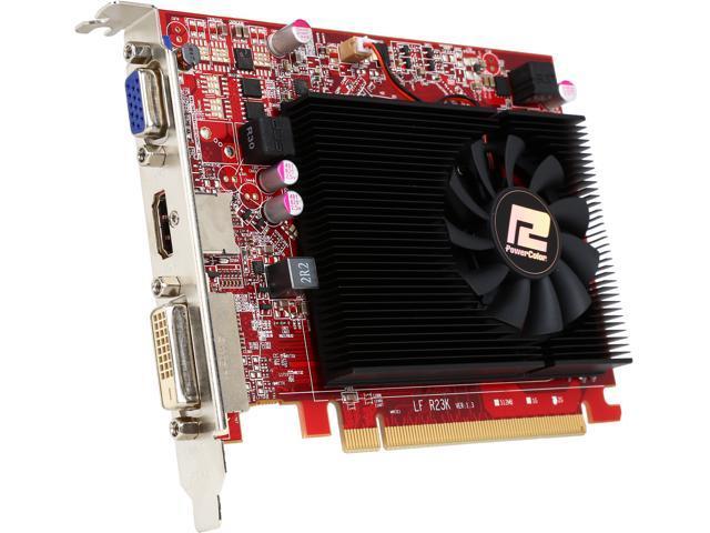 PowerColor AXR7 240 4GBK3-HE/OC Radeon R7 240 4GB 128-Bit DDR3 PCI Express 3.0 CrossFireX Support ATX Video Card