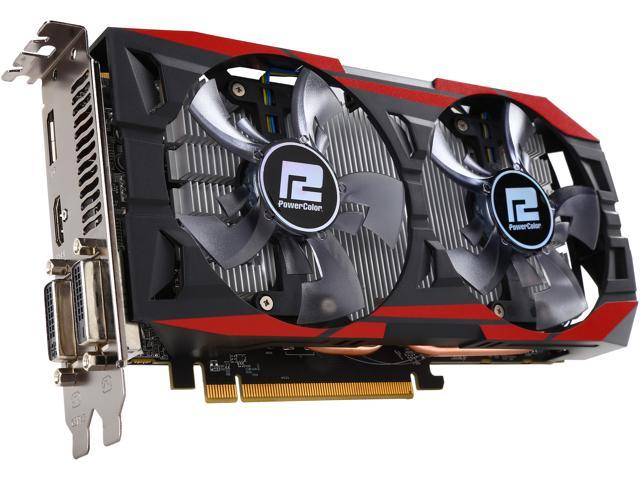 PowerColor AXR7 370 2GBD5-PPDHE Radeon R7 370 2GB 256-Bit GDDR5 PCI Express 3.0 CrossFireX Support ATX Video Card
