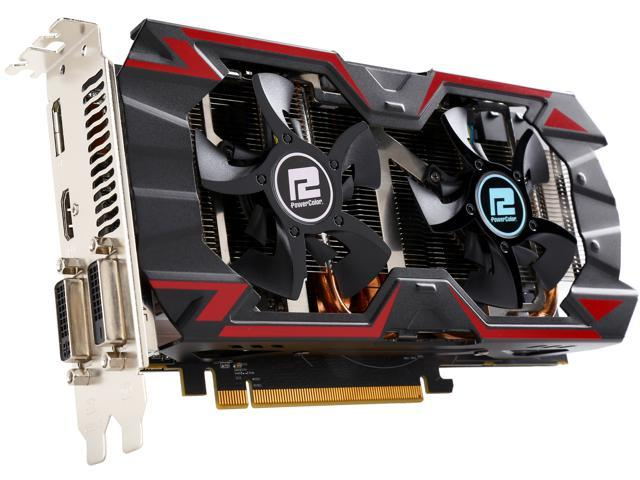 PowerColor PCS+ AXR9 380 4GBD5-PPDHE Radeon R9 380 4GB 256-Bit GDDR5 PCI Express 3.0 CrossFireX Support ATX Video Card