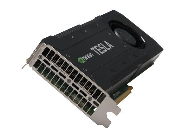 NVIDIA TESLA K20 (900-22081-2220-000) GK110 5GB 320-bit GDDR5 PCI Express 2.0 x16 3.52 Tflops Workstation Video Card