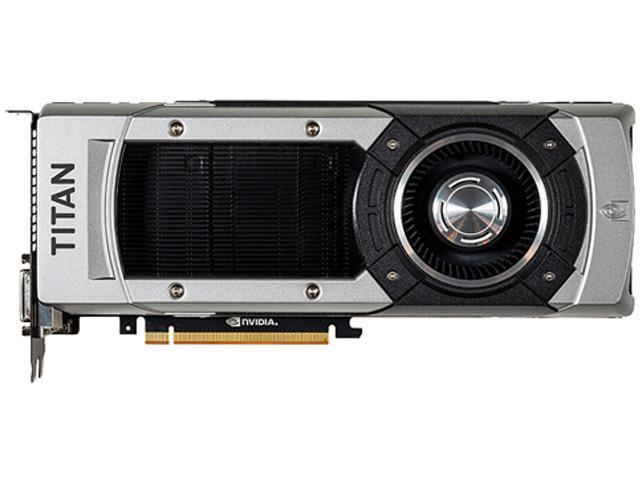 NVIDIA GeForce GTX TITAN BLACK 6GB Video Card with 850 Watts Power Supply