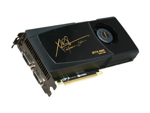 PNY XLR8 RVCGGTX465XXB GeForce GTX 465 (Fermi) 1GB 256-Bit GDDR5 PCI Express 2.0 x16 HDCP Ready SLI Support Video Card