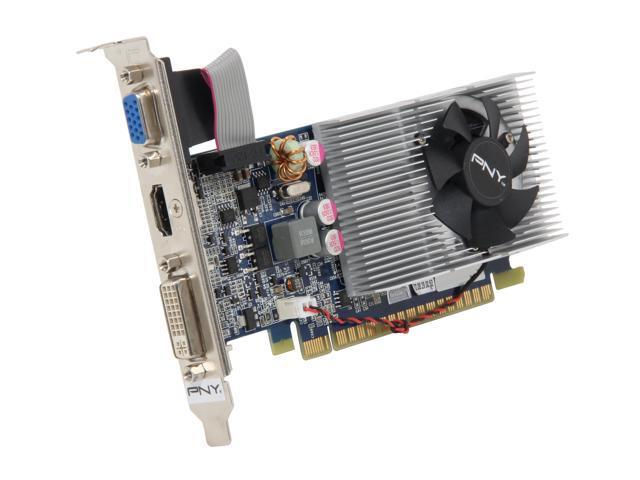 PNY RVCGGT4301XXB GeForce GT 430 (Fermi) 1GB PCI Express 2.0 x16 HDCP Ready Video Card