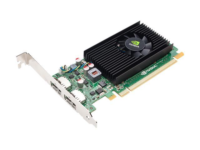 PNY VCNVS310DP-PB Quadro NVS 310 512MB 64-bit DDR3 PCI Express 2.0 x16 HDCP Ready Workstation Video Card