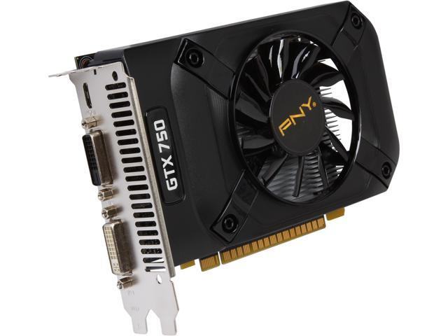 PNY VCGGTX7501XPB GeForce GTX 750 1GB 128-Bit GDDR5 PCI Express 3.0 x16 Video Card