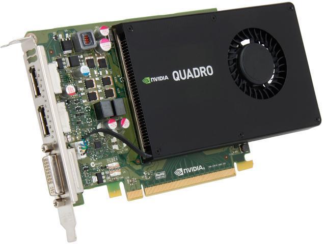 PNY Quadro K2200 VCQK2200-PB 4GB 128-bit GDDR5 PCI Express 2.0 x16 Workstation Video Card