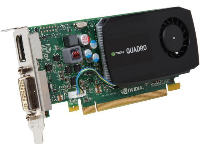 PNY Quadro K420 VCQK420-PB 1GB 128-bit DDR3 PCI Express 2.0 x16 Workstation Video Card
