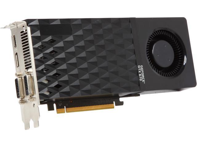 PNY RVCGGTX670XXB GeForce GTX 670 2GB 256-Bit GDDR5 PCI Express 3.0 x16 HDCP Ready SLI Support Video Card
