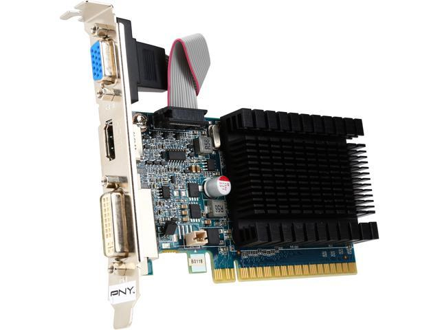PNY RVCG841024D3SXXB 1GB 64-Bit DDR3 HDCP Ready Low Profile Video Card