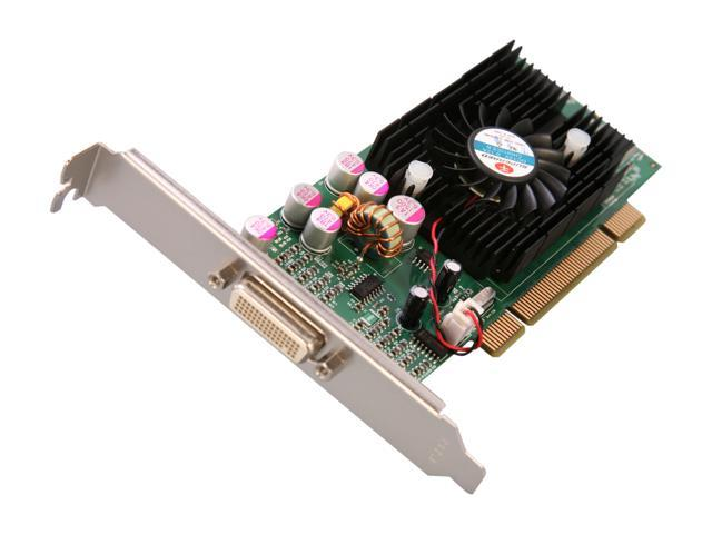 JATON Video-228PCI-LP GeForce FX 5200 128MB 64-Bit DDR PCI Low Profile Ready Video Card