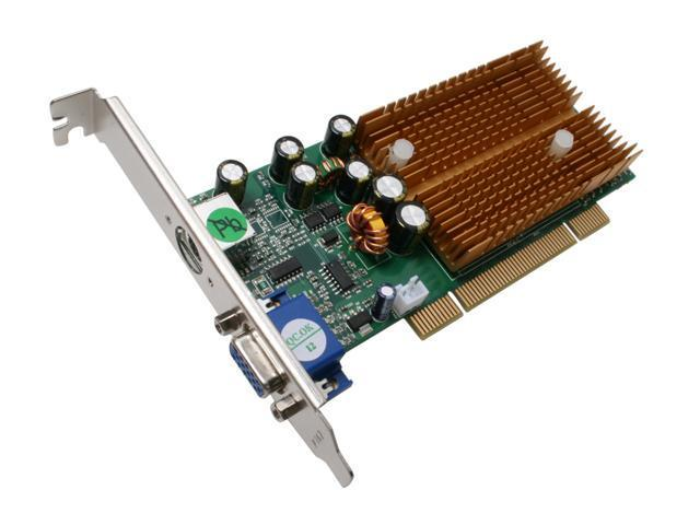 JATON Video-338PCI-DX GeForce 6200 128MB 64-Bit DDR PCI Low Profile Ready Video Card