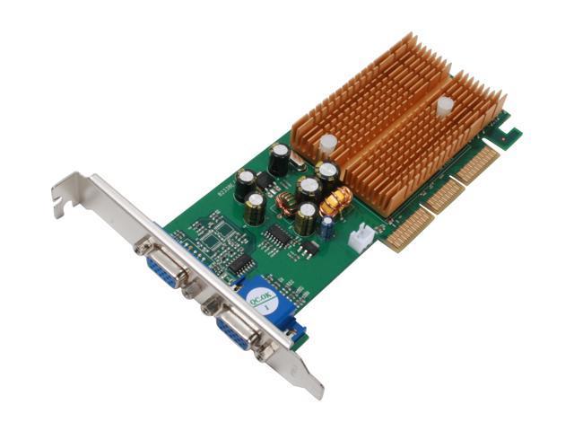 JATON 3DForce6200Twin GeForce 6200 256MB 64-Bit DDR AGP 4X/8X Video Card