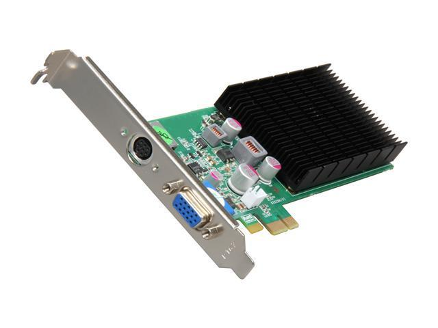 JATON Video-PX628GS-LP1 GeForce 8400 GS 512MB 64-Bit DDR2 PCI Express x1 Low Profile Ready Video Card
