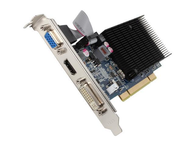 JATON Video-339PCI-HLX Radeon HD 5450 512MB 64-Bit DDR3 PCI HDCP Ready Low Profile Ready Video Card