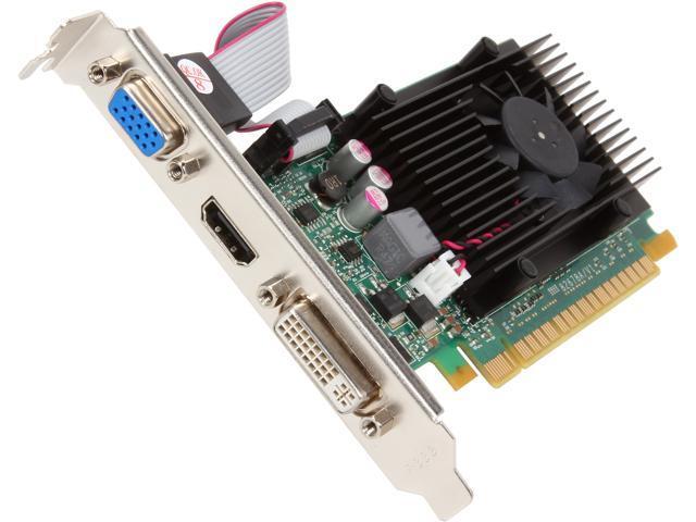 JATON Video-PX610GT-LX GeForce GT 610 1GB DDR3 PCI Express 2.0 x16 Low Profile Video Card