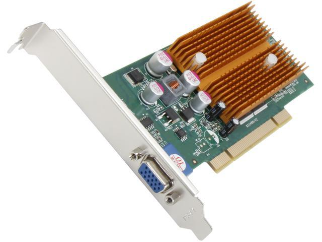 JATON Video-348PCI-256 GeForce 6200 256MB 64-Bit DDR2 PCI Low Profile Ready Video Card