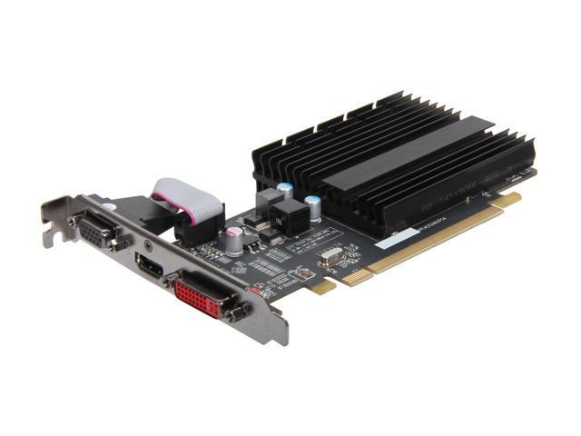 XFX HD-545X-YQH2 Radeon HD 5450 512MB 32-Bit DDR3 PCI Express 2.1 x16 HDCP Ready Low Profile Ready Video Card