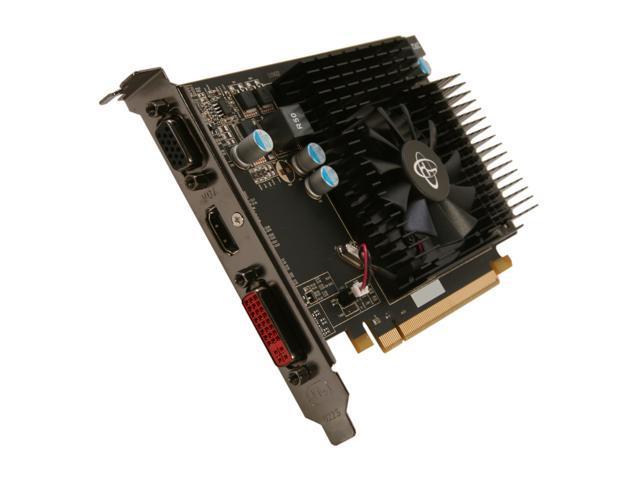 XFX HD-657X-ZDF2 Radeon HD 6570 1GB 64-Bit DDR3 PCI Express 2.1 x16 HDCP Ready Video Card