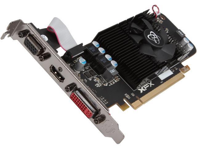 XFX R7-240A-CLF2 Radeon R7 240 2GB 128-Bit DDR3 Low Profile Ready Video Card