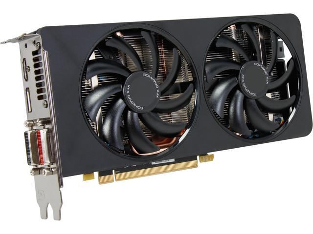 XFX Double D R9-270A-CDFC Radeon R9 270 2GB GDDR5 PCI Express 3.0 CrossFireX Support Video Card