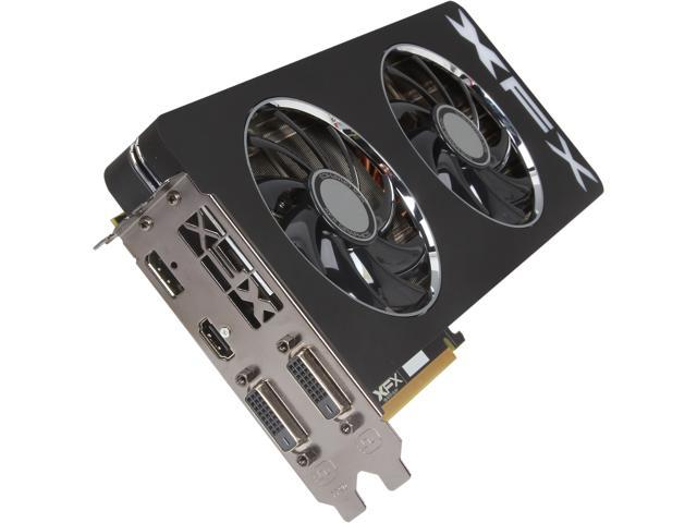 XFX Black Edition Double Dissipation R9-290X-EDBD Radeon R9 290X 4GB 512-Bit GDDR5 PCI Express 3.0 x16 HDCP Ready CrossFireX Support Video Card
