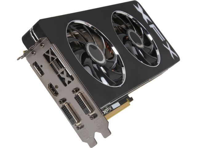 XFX Black Edition Double Dissipation R9-290A-EDBD Radeon R9 290 4GB 512-Bit GDDR5 PCI Express 3.0 x16 HDCP Ready CrossFireX Support Video Card