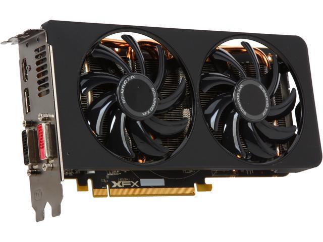 XFX R9-285A-CDBC Radeon R9 285 2GB 256-Bit DDR5 PCI Express 3.0 CrossFireX Support Video Card