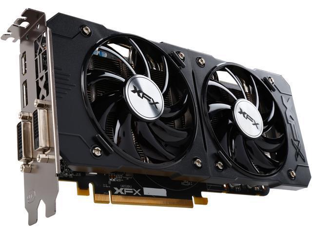 XFX R9-380P-4255 Radeon R9 380 4GB 256-Bit GDDR5 PCI Express 3.0 CrossFireX Support Video Card