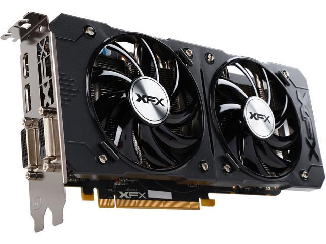 XFX Radeon R9 380 R9-380P-2255 2GB 256-Bit GDDR5 PCI Express 3.0 CrossFireX Support Video Card