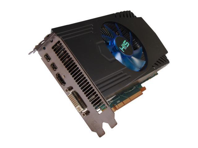 HIS H785F1G2M Radeon HD 7850 1GB 256-Bit GDDR5 PCI Express 3.0 x16 HDCP Ready CrossFireX Support Video Card
