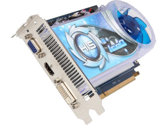 HIS IceQ Boost H250Q1G Radeon R7 250 1GB 128-Bit GDDR5 PCI Express 3.0 x16 CrossFireX Support Video Card