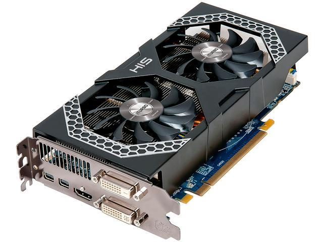 HIS Mini IceQ X² H270XQMS4G2M Radeon R9 270X 4GB 256-Bit GDDR5 PCI Express 3.0 x16 CrossFireX Support Video Card