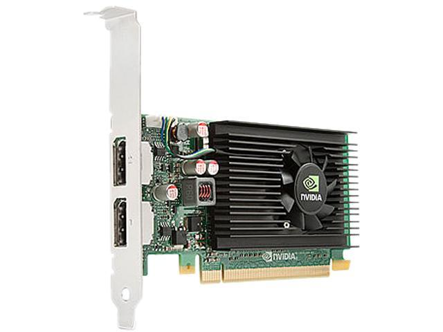 HP Quadro NVS 310 A7U59AT 512MB DDR3 PCI Express 2.0 x16 Low Profile Graphics Card