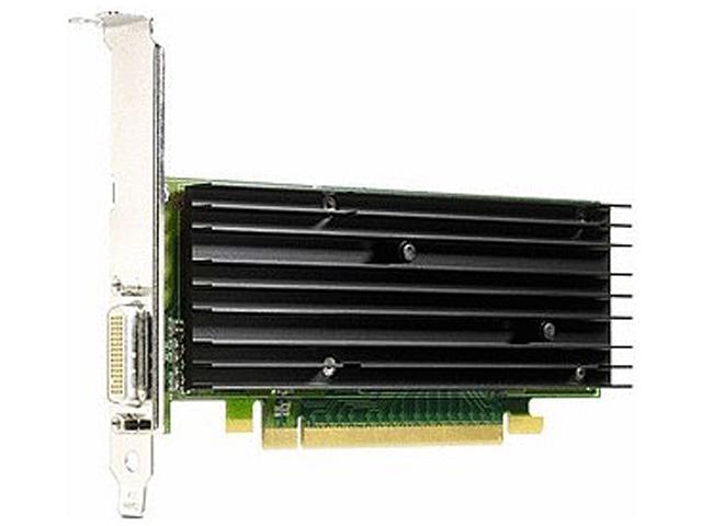 HP Quadro NVS 290 KG748AA 256MB 64-bit DDR2 PCI Express x16 Plug-in card Workstation Video Card