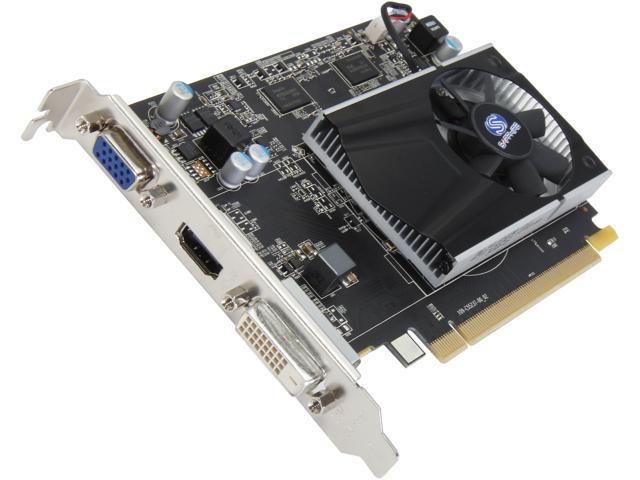 SAPPHIRE 100369-2GL Radeon R7 240 2GB 128-Bit DDR3 PCI Express 3.0 CrossFireX Support Video Card