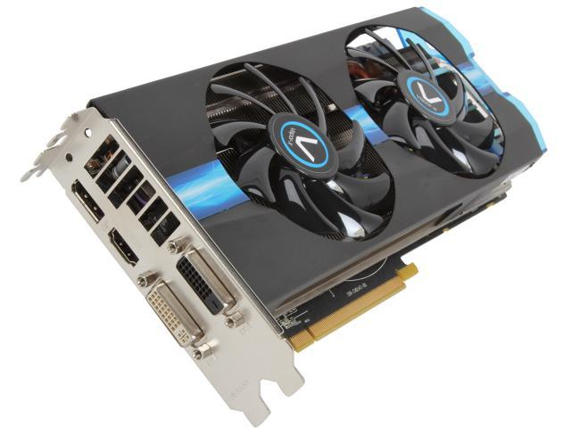 SAPPHIRE Vapor-X Radeon R9 270X DirectX 11.2 100364VXL 2GB 256-Bit GDDR5 PCI Express 3.0 CrossFireX Support OC WITH BOOST Video Card