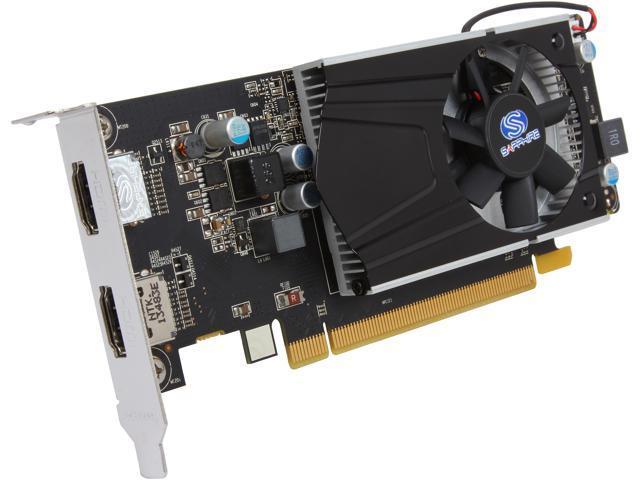 SAPPHIRE 100369LP Radeon R7 240 2GB DDR3 Low Profile w/ Boost Video Card