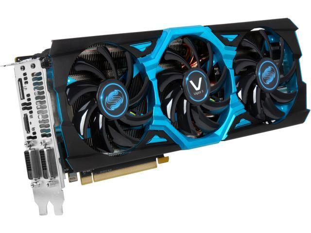 SAPPHIRE VAPOR-X Radeon R9 290 DirectX 11.2 100362VXSR 4GB 512-Bit GDDR5 PCI Express 3.0 CrossFireX Support TRI-X OC (UEFI) Video Card