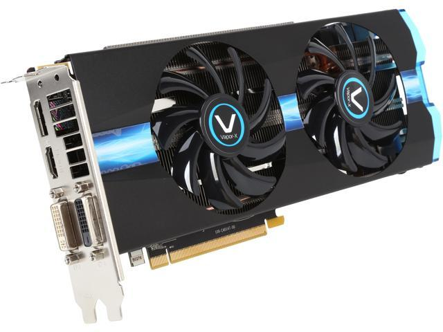SAPPHIRE VAPOR-X 100365VXL Radeon R9 270 2GB 256-Bit GDDR5 PCI Express 3.0 CrossFireX Support Video Card