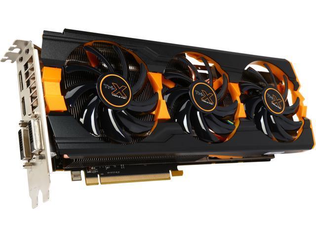 SAPPHIRE 100361-8GL Radeon R9 290X 8GB 512-Bit GDDR5 PCI Express 3.0 CrossFireX Support Tri-X OC(UEFI) Video Card