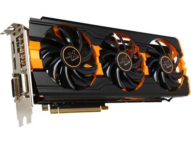 SAPPHIRE 100361-4L Radeon R9 290X 4GB 512-Bit GDDR5 PCI Express 3.0 Tri-X OC(UEFI) Video Card, New Edition
