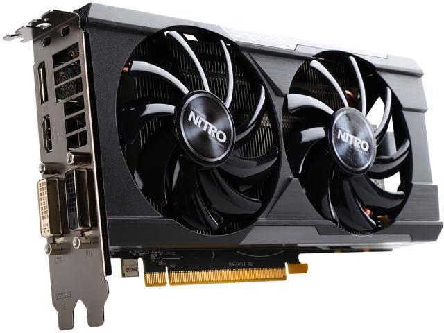 SAPPHIRE NITRO Radeon R7 370 100386NT4GOCL 4GB 256-Bit GDDR5 PCI Express 3.0 ATX Dual-X OC Version (UEFI) Video Card